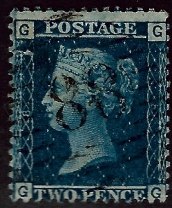 Great Britain SC#21 Perf 14 Used Fine hr CV$60.00...Real Deal!!
