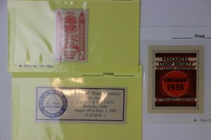 PSS Precancel Philatelic Society PRECANEX club Round-up pre-cancel lot 1930s