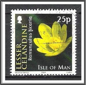 Isle of Man #1033 Flowers Used
