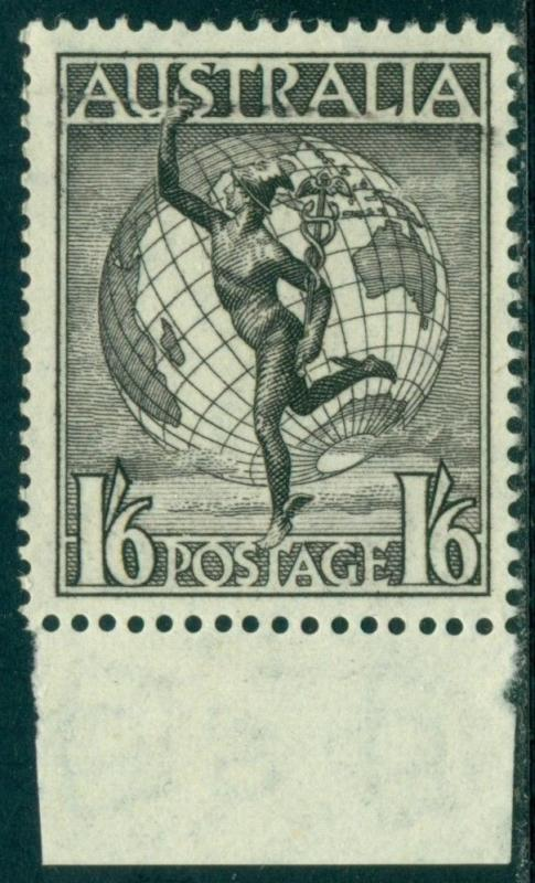 Australia Scott #C6 MLH Mercury and Globe WMK 228 CV$2+