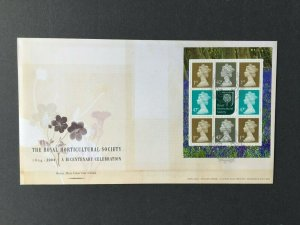 GB401) Great Britain 2004 Royal Horticulture Society FDC