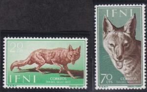 Ifni 82-83 MNH (1957)