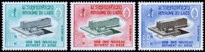 Laos Scott 126-128 (1966) Mint NH VF Complete Set W
