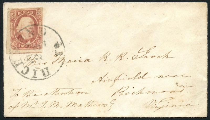 CSA #8 ON COVER WITH PF CERT RICHMOND, VA TO RICHMOND, VA WLM4262