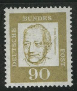 Germany Scott 837 MH* 1964 stamp