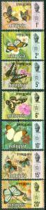 Malaysia - Trengganu - Scott 96-102 MNH
