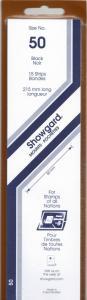 SHOWGARD BLACK MOUNTS 215/50 (15) RETAIL PRICE $9.75