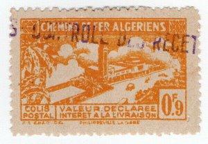 (I.B) France Colonial Railway : Algeria Chemins de Fer 0.9F