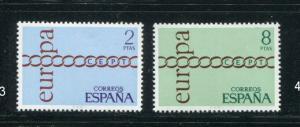 Spain #1675-6 MNH