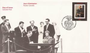 2001 Canada FDC Sc 1909 - Pierre Elliott Trudeau