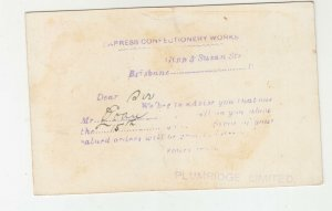 QUEENSLAND, Postal Card 1912 1d. Red, EXPRESS CONFECTIONERY, Petrie to Gympie.