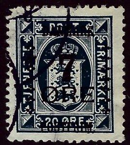 Denmark #191 Used VF hr SCV$72.50...Grab a Deal!