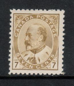 Canada #92iii Mint Fine - Very Fine Never Hinged **With Certificate**