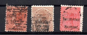 New South Wales fine used overprint Surcharged collection WS16624