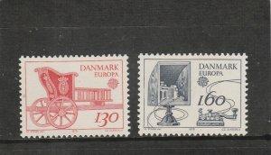Denmark  Scott#  651-2  MNH  (1979 Europa)