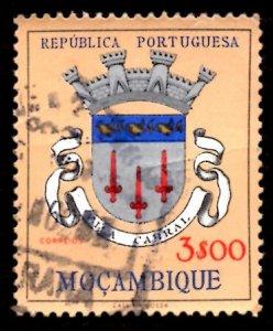 Mozambique 1961 Vila Cabral, Coat of Arms 3e Scott.416 Used (#5)