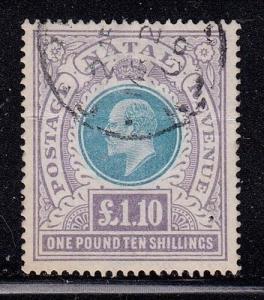 Natal Scott # 97 VF used neat cancel with nice color scv $ 125 ! see pics !