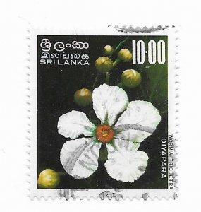 Sri Lanka #498 Used - Stamp - CAT VALUE $