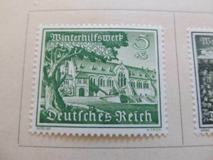 A8P54F78 Deutsches Reich Allemagne Germany 1939 5+3pf fine mh* stamp