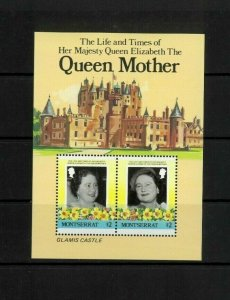 Wholesale Lot Queen Mother 85th Birthday. Montserrat 562. Cat.15.75 (9 x 1.75)