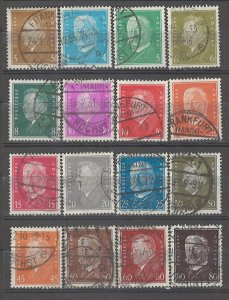 COLLECTION LOT # 4953 GERMANY 16 STAMPS 1928+ CV+$25