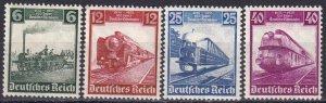 Germany #459-62  F-VF Unused CV $15.90  (Z3922)