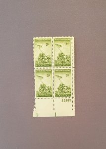 929, Iowa Jima, Plate Block LR, Mint OGNH, CV $2.50