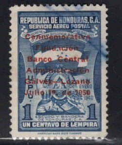 Honduras  Scott C188 used overprint stamp