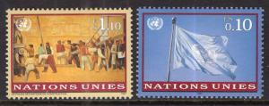 UN Geneva 296-297 MNH VF