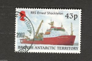 British Antarctic Territory #292 RRS Ernest Shackleton  Royal Research Ship