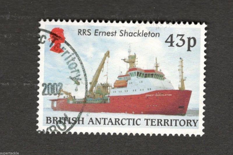 British Antarctic Territory #292 RRS Ernest Shackleton  Royal Research Ship