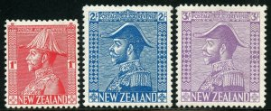 NEW ZEALAND  SCOTT #182/84  MINT HINGE REMNANT  SCOTT VALUE $201.25