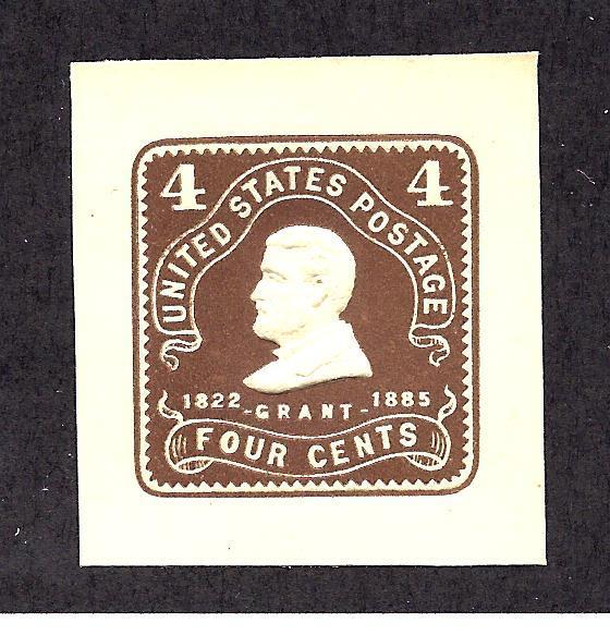 U391 Mint... Cut Square... SCV $17.50