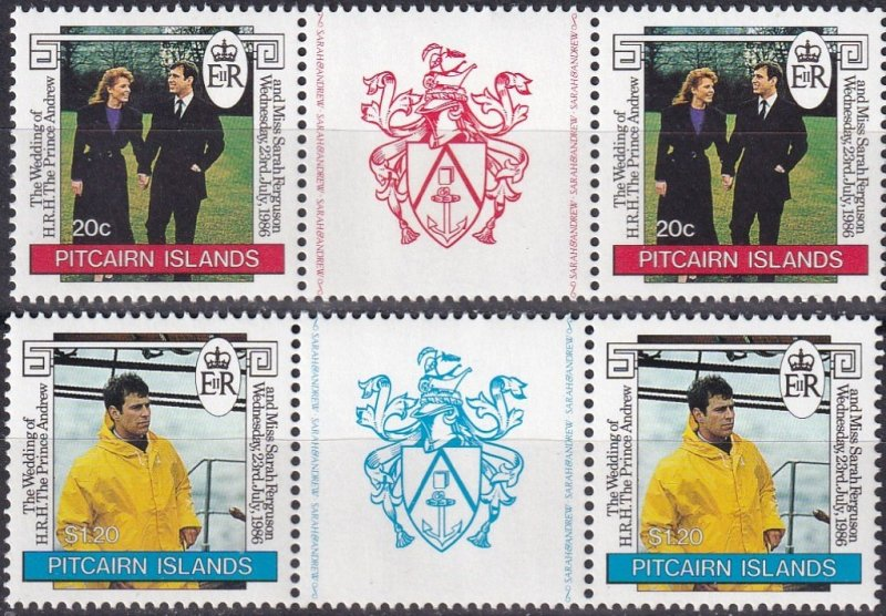 Pitcairn Islands #275-6 MNH CV $5.50 (Z1360)