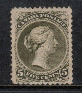 Canada #26 Mint Very Fine Unused (Regummed) **With Certificate**