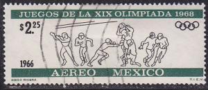 Mexico C319 Olympic Football 1966