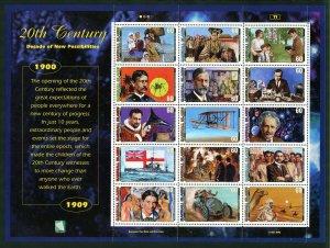Marshall Islands Scott Complete 20th Century Sheet Set MVFNHOG - SCV $179.00
