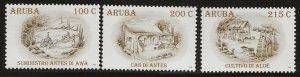 ARUBA  SC #   338 - 40   MNH
