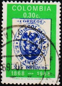 Colombia. 1968 30c S.G.1234 Fine Used