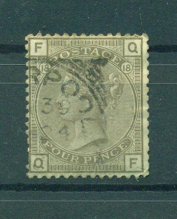 Great Britain sc# 84 used cat value $65.00