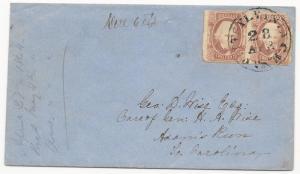 CSA Scott #8 Pair on Cover Pittsylvania CH, VA April 28 (1864) Wise Corr w/ Cert