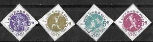 Japan # B28-31   Olympics - semi-postals 1963  (4) Mint NH