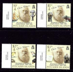 Pitcairn Is 686-89 MNH 2009 Charles Darwin