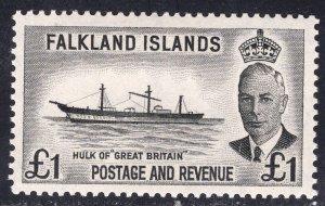 FALKLAND ISLANDS SCOTT 120