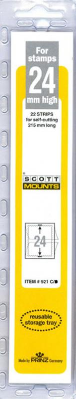 Scott Mounts Clear 24mm STRIP 215 ,(Pgk. 22)(00921C)