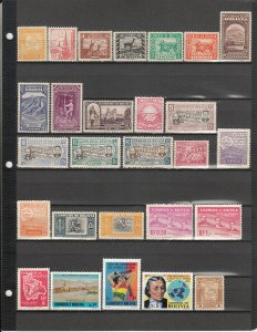 BOLIVIA 46 DIFFERENT MNH 231/RA15 SEE DESCRIPTION AREA FOR LIST 2019 SCV $39.20