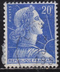 France 755 Marianne 1957