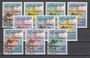 Oman State, 1969 Local issue. Definitive issue o/p for John Kennedy. Canceled. ^
