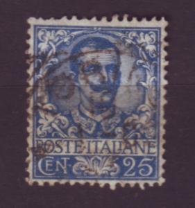 J20073 jlstamps 1901-1926  italy used #81 king