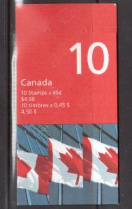 Canada Booklet #205ac Very Fine Never Hinged
